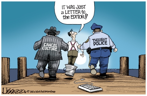Lisa Benson cartoon