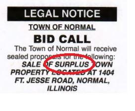 bid call