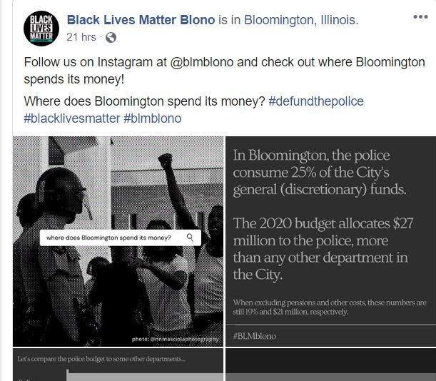 blm police funding perc