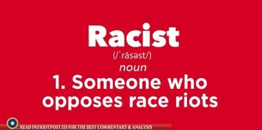 Dem definition of racist