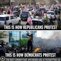 difference in protests