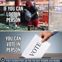 if you can loot in person