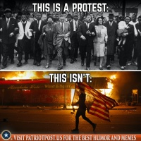 what is not a protest