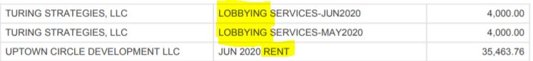lobby rent