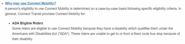 using mobility