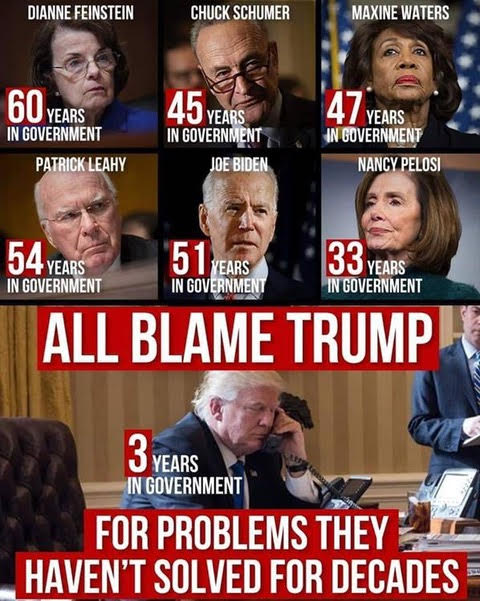 all blame trump