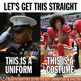 uniform versus costume